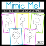 Mimic Me! A Body Movement Transition Game