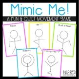 Mimic Me! A Body Movement Transition Game