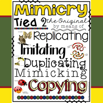 Mimicry Poster