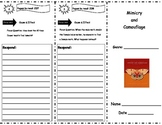 Mimicry and Camouflage Storytown Comprehension Trifold