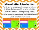Mimio Alphabet Introduction