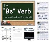 Be Verb Mimio Lesson Bundle with Fun Stuff Interactive Mimio Board Game