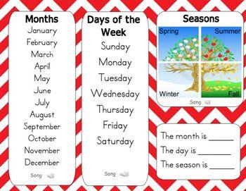 Mimio December Calendar Morning Meeting