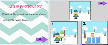 Mimio Drawing Conclusions Practice Reading Street Unit 3 Week 5