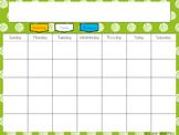 Mimio Interactive Calendar