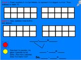 Mimio Smartboard Go Math 1st Lesson 4.5  Break Apart to Subtract (w/Ten Frame)