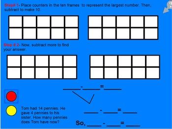 Mimio Smartboard Go Math 1st Lesson 4.5  Break Apart to Su