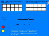 Mimio Smartboard Go Math 1st Lesson 4.4 Use Ten to Subtract (with Ten Frame)