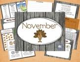 Mimio November Calendar Morning Meeting