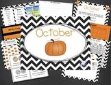 Mimio October Calendar Morning Meeting