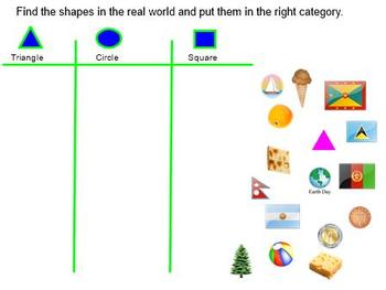 Mimio Shapes in Our World