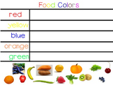 Mimio Smart Board - Food Colors Sorting