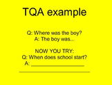 Mimio: Teaching Text Evidence  and TQA RL 3.1