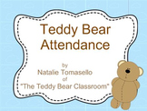 Mimio Teddy Bear Attendance Activity