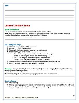 MimioStudio Software Workbook - Intermediate