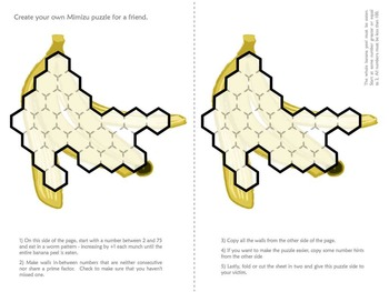 Mimizu - A Factorization Puzzle for grade 4-7