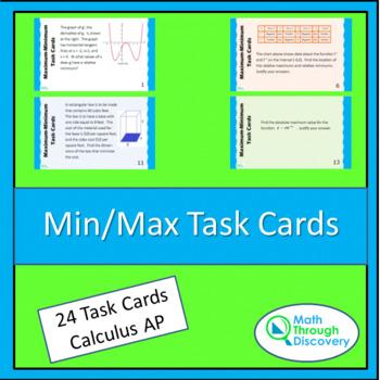 Min/Max Task Cards