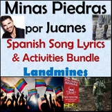 Minas Piedras by Juanes - Spanish Song Lyrics & Activities Unit