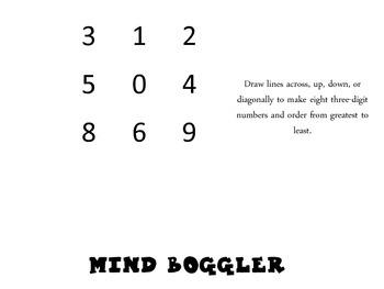 Mind Bogglers