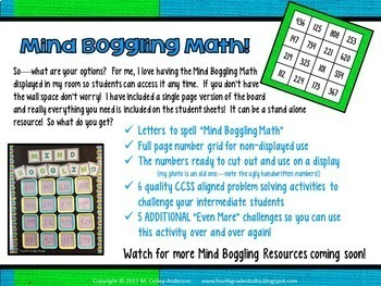 Math Enrichment Mind Boggling Math:  Addition With Regrouping Edition