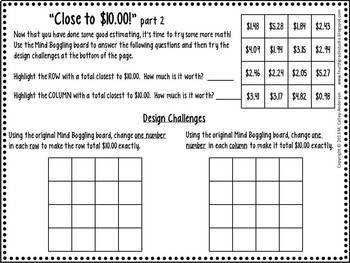 Mind Boggling Math:  Adding with Regrouping Money Edition