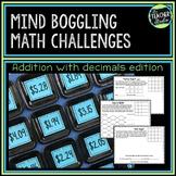 Money and Decimals Math Enrichment Activities | Mind Boggling Math Center