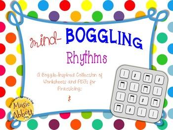 Mind Boggling Rhythm Games & Worksheets: quarter rests