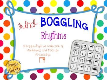 Mind Boggling Rhythm Games & Worksheets: ti-tika/ti-tiri