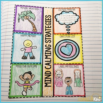 Mind Calming Strategies Centers: Coping Skills Classroom Guidance Lessons