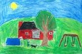 Mind-Centered ART Lesson Plan - Oil Pastel Memory of Home