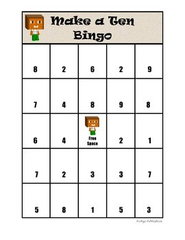 Make a Ten Bingo