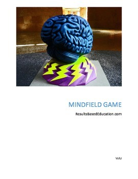 Mind Field Game, Fun Idea, Teach Team Building Game,