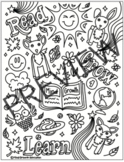 Mind Growth Education themed Colouring Sheet