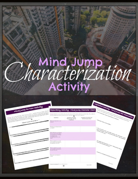 Characterization & Point of View: Literary Elements & Analysis {COMMON CORE}