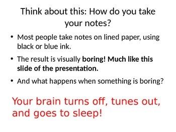Mind Map Instructions