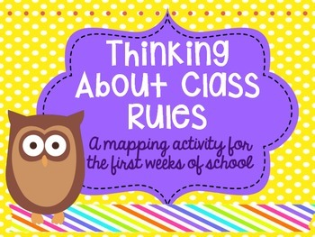 Mind Maps: Thinking about Class Rules