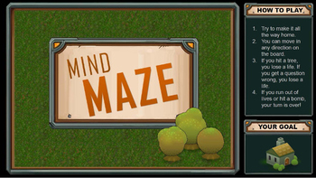 Mind Maze - PowerPoint revision game that looks and feels like an arcade game