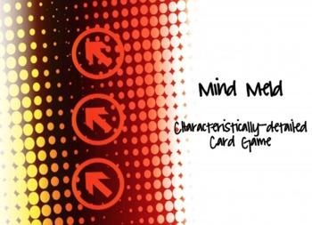 Mind Meld Characteristics Detail Card Game