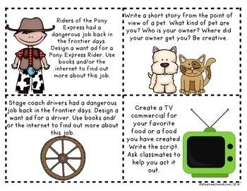 Mind Mover Task Cards