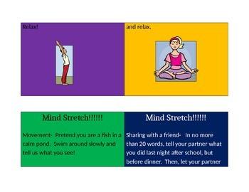 Mind Stretch cards