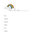 Mind Up Week 5 Mindful Movement Worksheet Rainbow Walk Mindfulness