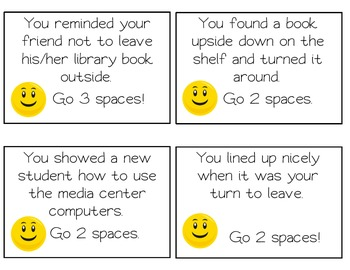 Mind Your Library Manners Review Game - Library Media Center