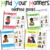 #spedprep3 Mind Your Manners Interactive (Adapted) Books f