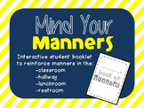Mind Your Manners - Interactive Booklet
