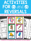Activities for b and d Reversals