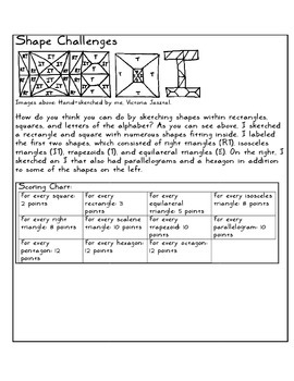 Minded Crate Activities-- Math-Minded Section