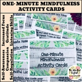 Mindful Activities - One-Minute Mindfulness Cards - Countr