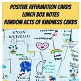 Mindfulness Activities - Positive Affirmation Cards -  Lun