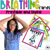 Mindful Breathing Cards | Social Emotional Learning SEL | Digital and Printable