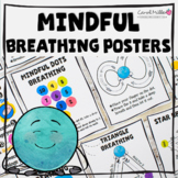 Mindfulness Breathing Posters and Pocket Cards | Calm Down Corner